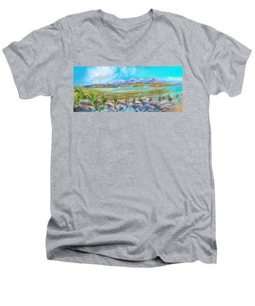 Water For Irrigation  Men's V-Neck T-Shirt