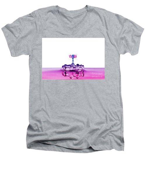 Water-king Men's V-Neck T-Shirt by Mathias Janke