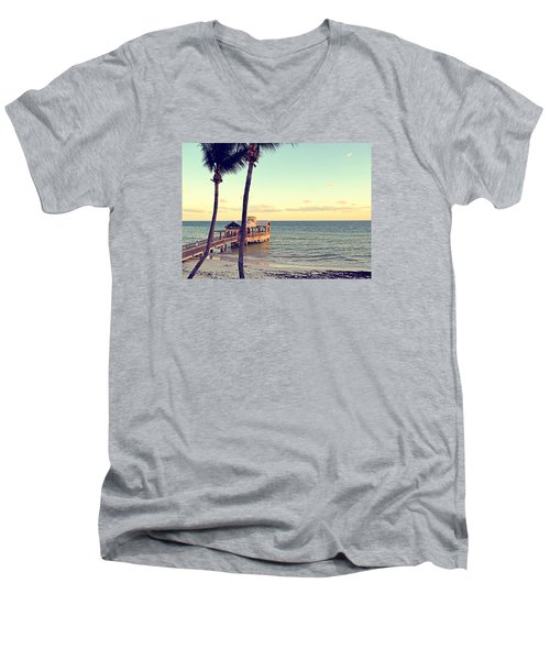Water Oasis Men's V-Neck T-Shirt by JAMART Photography