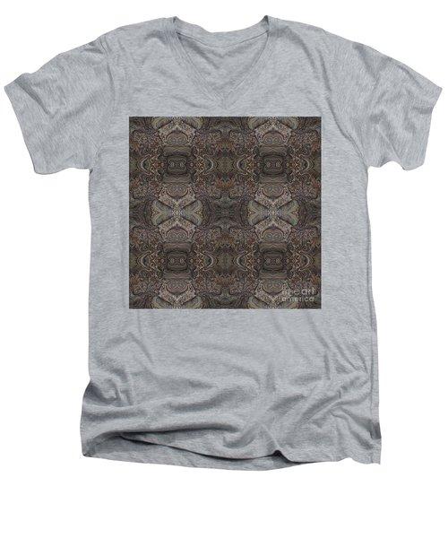 Water Pattern Men's V-Neck T-Shirt