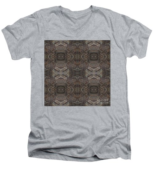 Water Pattern Men's V-Neck T-Shirt