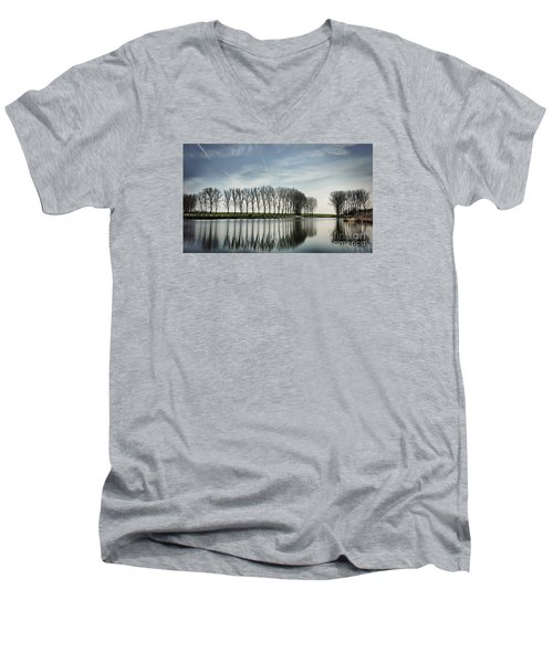 Water Reflection Men's V-Neck T-Shirt