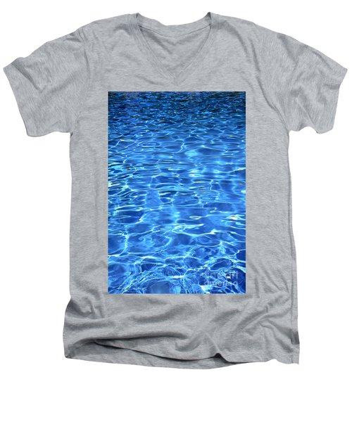 Water Shadows Men's V-Neck T-Shirt