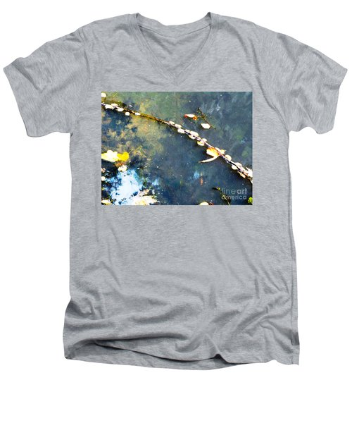 Water, Sky, Stick Men's V-Neck T-Shirt