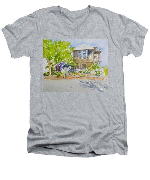 Water Street, Rosemary Beach Men's V-Neck T-Shirt