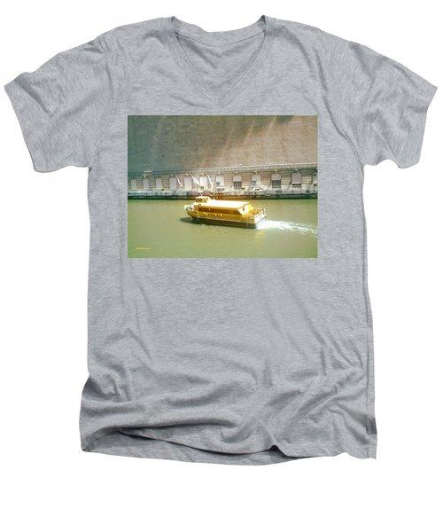 Water Texi Men's V-Neck T-Shirt
