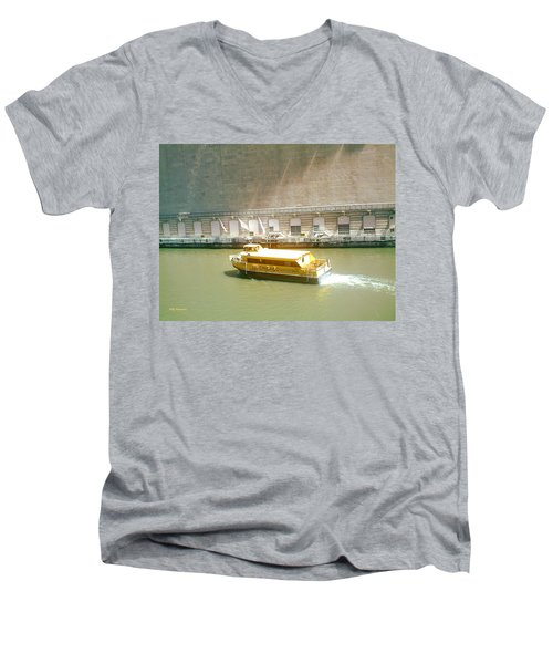 Water Texi Men's V-Neck T-Shirt