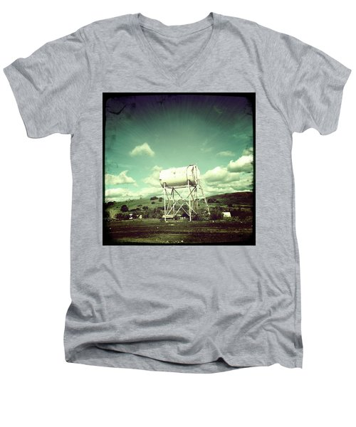 Water Tower Men's V-Neck T-Shirt