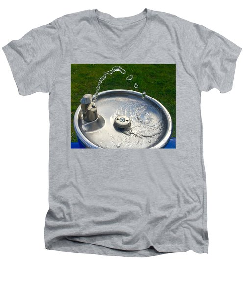 Water Works Men's V-Neck T-Shirt