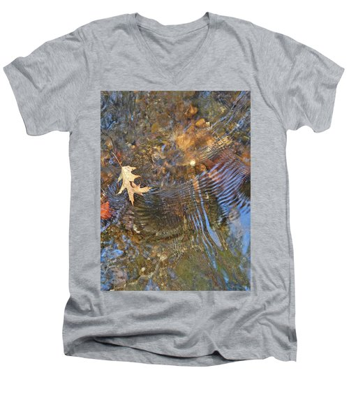 Water World 218 Men's V-Neck T-Shirt by George Ramos