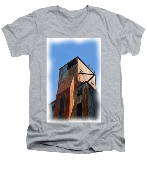 Waterfront Decay Two Men's V-Neck T-Shirt