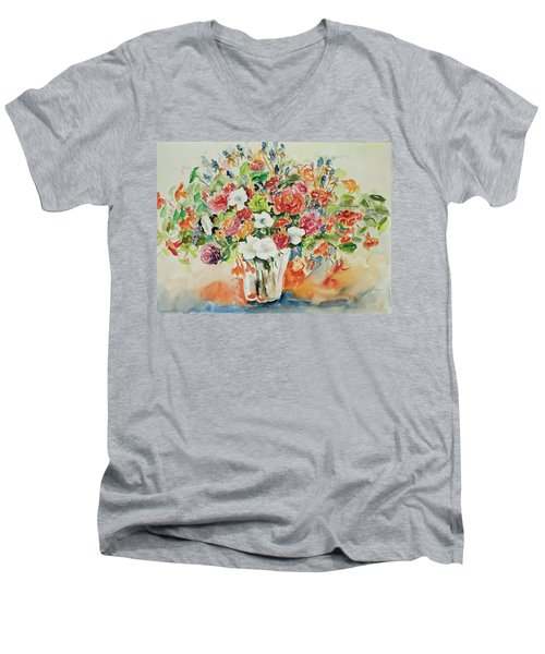 Watercolor Series 23 Men's V-Neck T-Shirt