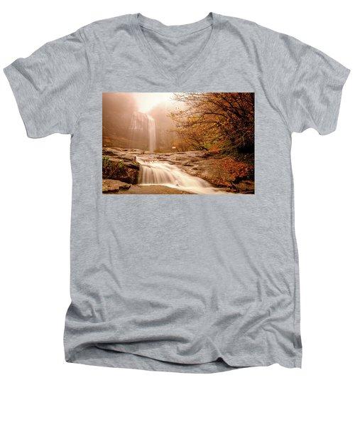 Waterfall-11 Men's V-Neck T-Shirt
