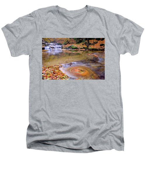 Waterfall-5 Men's V-Neck T-Shirt