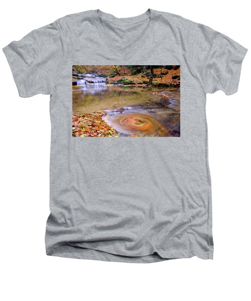 Waterfall-5 Men's V-Neck T-Shirt