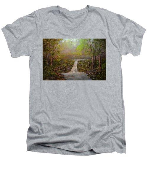 A Place Of Peace  Men's V-Neck T-Shirt