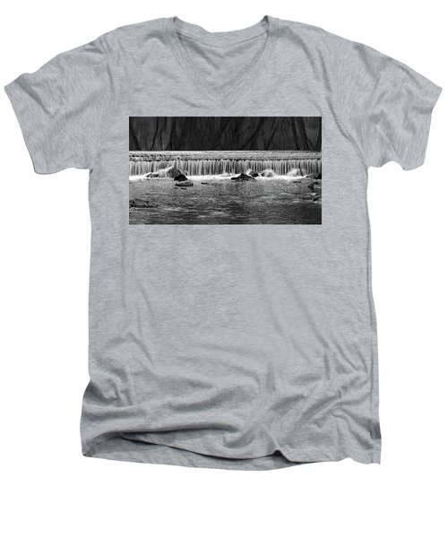 Waterfall004 Men's V-Neck T-Shirt