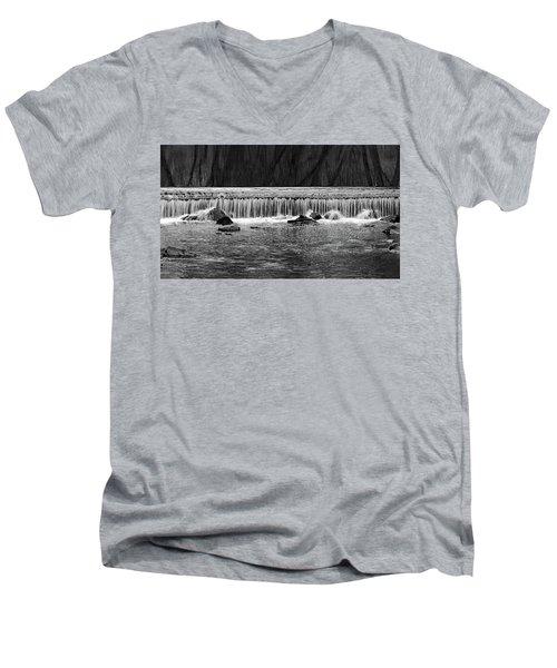 Waterfall004 Men's V-Neck T-Shirt