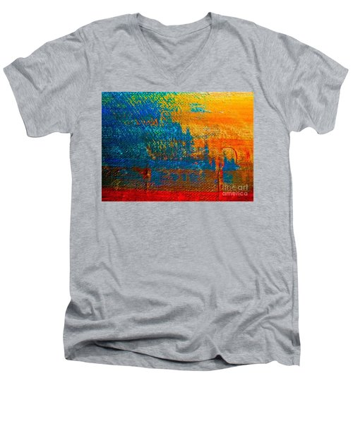 Waterloo Sunset Men's V-Neck T-Shirt