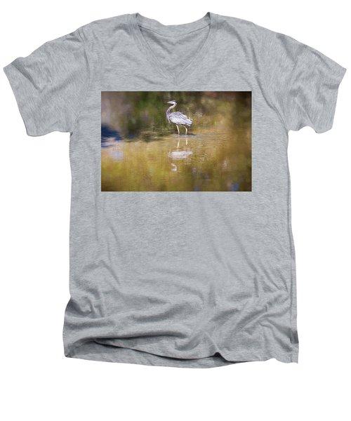 Watery World - Men's V-Neck T-Shirt