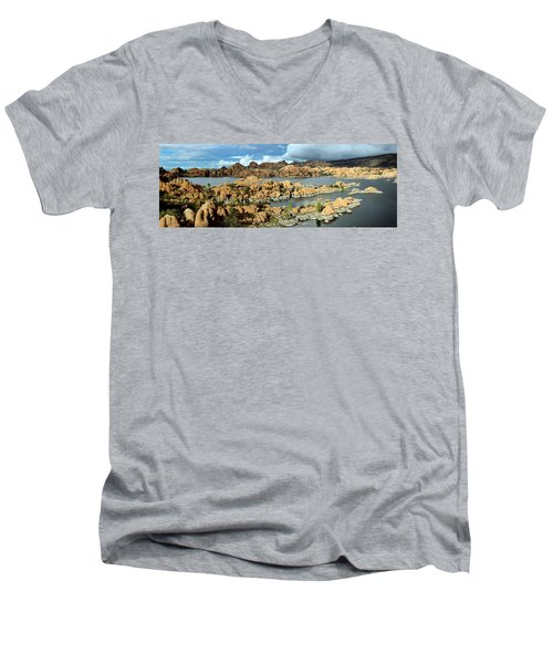Watson Lake Arizona Men's V-Neck T-Shirt