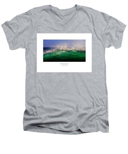Wave Crest Men's V-Neck T-Shirt