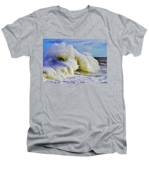 Moody Surf Men's V-Neck T-Shirt