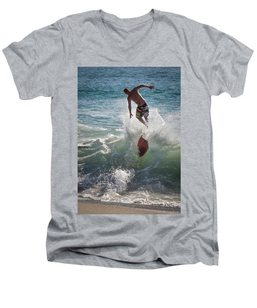 Wave Skimmer Men's V-Neck T-Shirt
