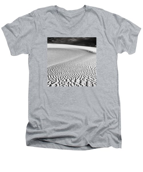 Men's V-Neck T-Shirt featuring the photograph Wave Theory V by Ryan Weddle