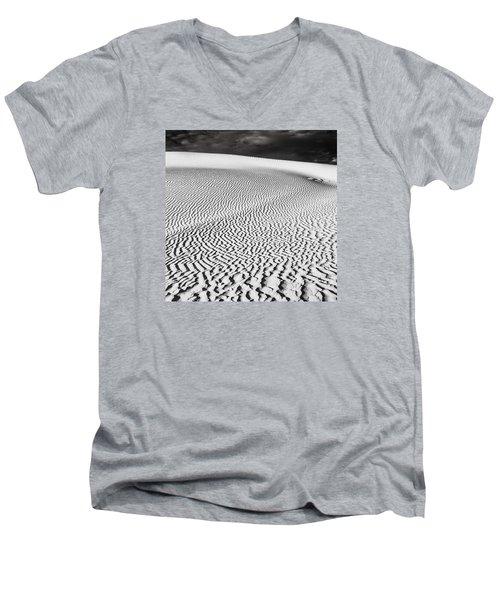 Wave Theory V Men's V-Neck T-Shirt by Ryan Weddle