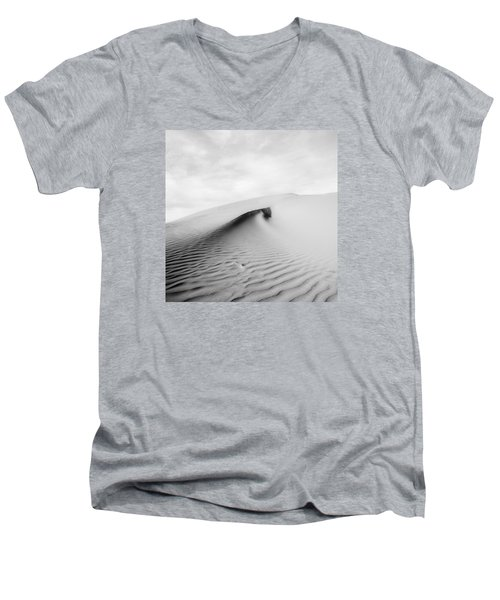 Men's V-Neck T-Shirt featuring the photograph Wave Theory Vi by Ryan Weddle