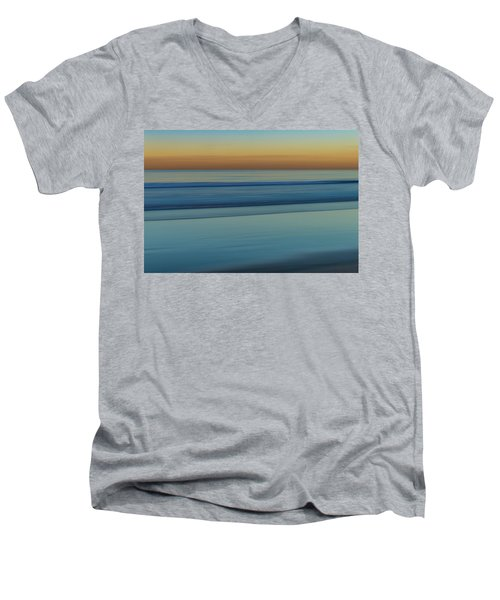 Wave Tracks 3 Men's V-Neck T-Shirt