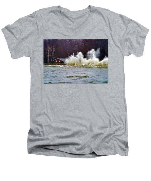 Waveform Men's V-Neck T-Shirt
