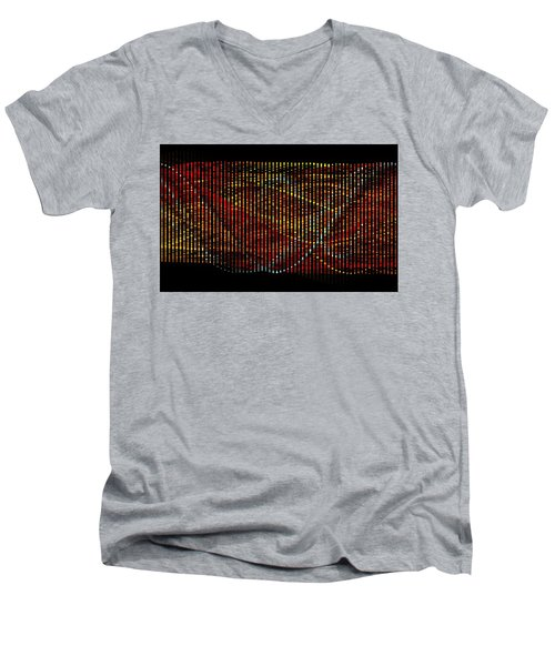 Abstract Visuals - Wavelengths Men's V-Neck T-Shirt