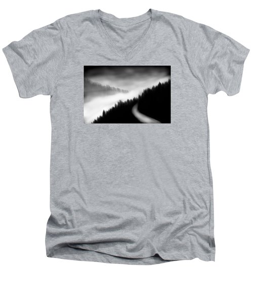 Way To The Unknown Men's V-Neck T-Shirt by Salman Ravish