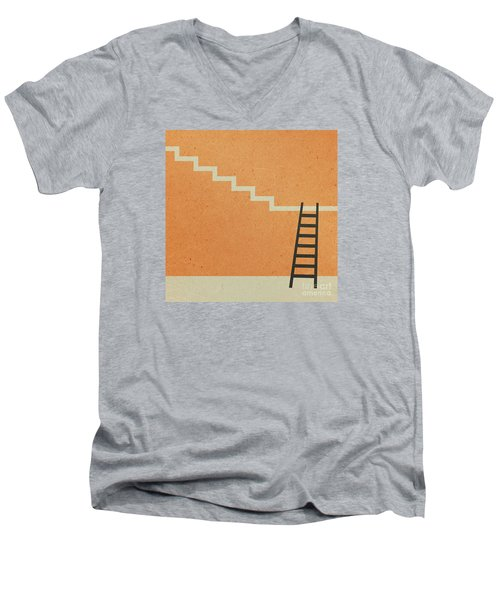 Way Up Men's V-Neck T-Shirt