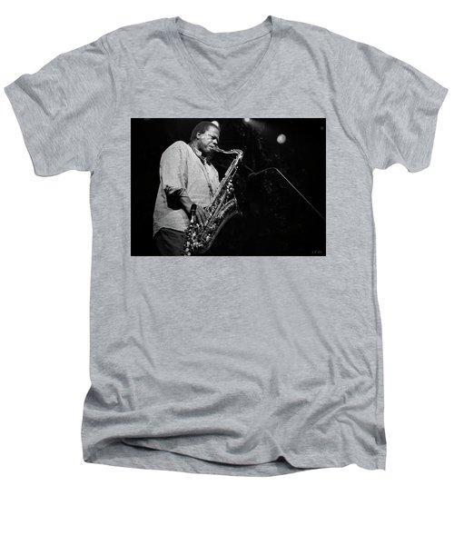 Wayne Shorter Discography Men's V-Neck T-Shirt