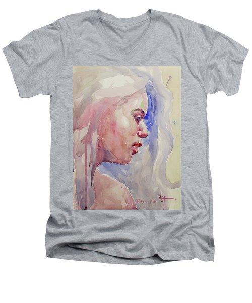 Wc Portrait 1618 Men's V-Neck T-Shirt