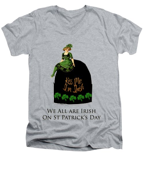 We All Irish This Beautiful Day Men's V-Neck T-Shirt