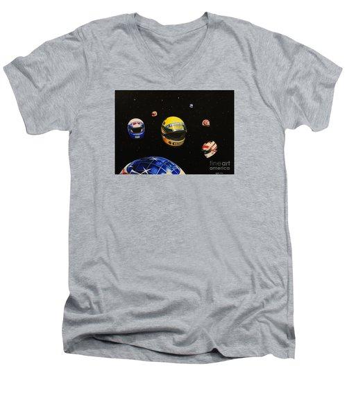 We Are Flying High   Men's V-Neck T-Shirt