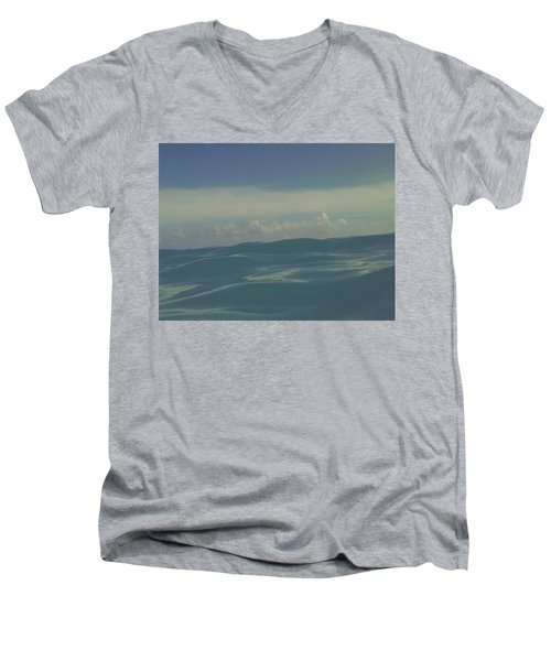 Men's V-Neck T-Shirt featuring the photograph We Are One by Laurie Search