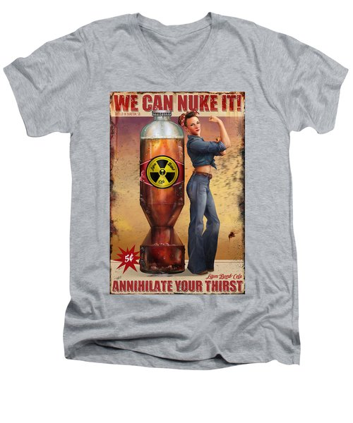 We Can Nuke It Men's V-Neck T-Shirt