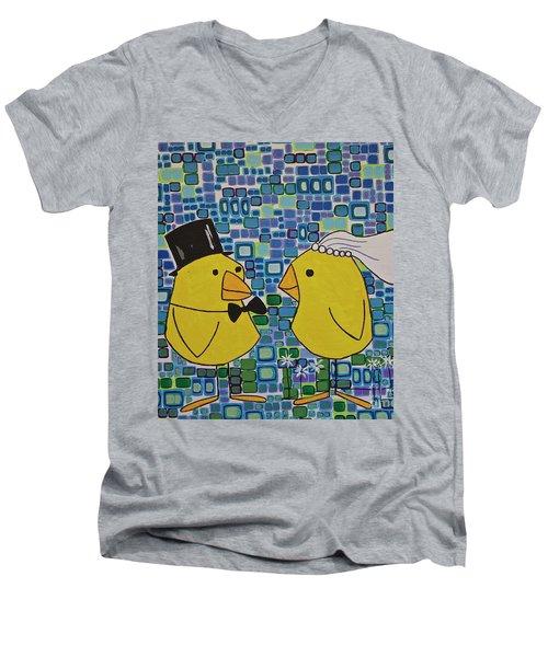 We Do Men's V-Neck T-Shirt