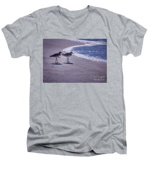 We Stand Together Men's V-Neck T-Shirt
