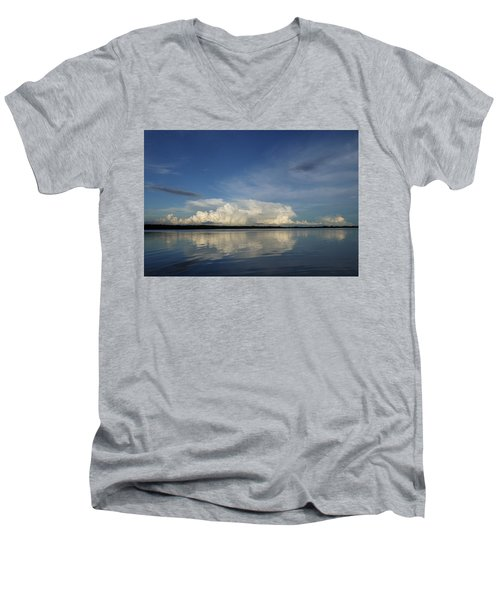 Weather From Tampa Bay 871 Men's V-Neck T-Shirt
