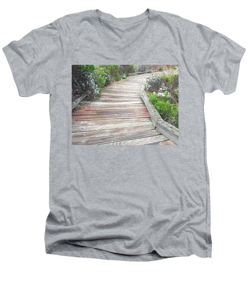 Weathered Path Men's V-Neck T-Shirt
