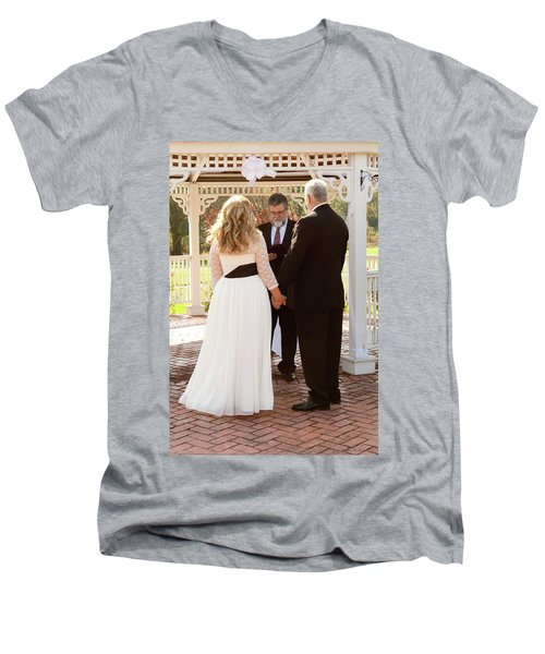 Wedding 2-2 Men's V-Neck T-Shirt