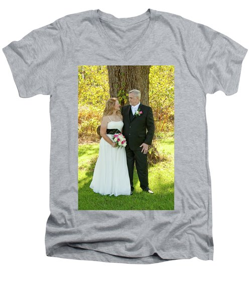 Wedding 2-6 Men's V-Neck T-Shirt