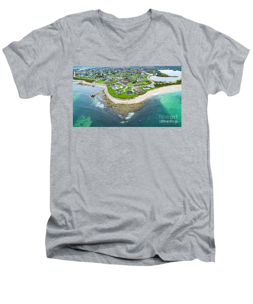 Weekapaug Point Men's V-Neck T-Shirt