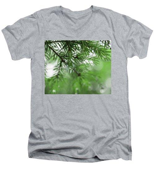 Weeping Pine 2 Men's V-Neck T-Shirt